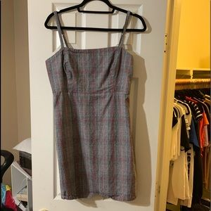 Hollister Plaid Dress